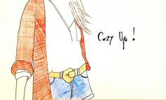 Cardigan Illustration | Manvi Gandotra