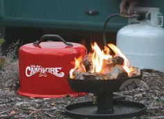 Small campfire (propane)