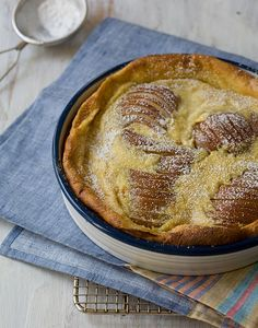 Ginger Pear Clafoutis