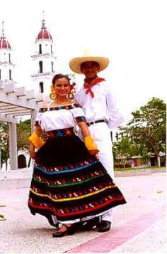 Trajes Tipicos Regionales De Mexico | Traje tipico de Tabasco.