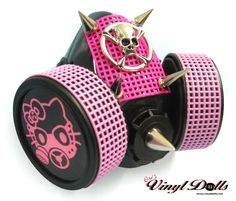 Hello Kitty gas mask