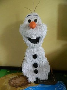 Frozen Olaf Party Pinata Handmade! Love it!
