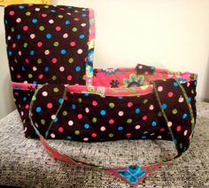 Baby doll bassinet by Tamika