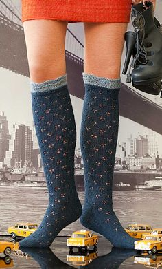 Ravelry: Project Gallery for #32 Eyelet Socks pattern by Star Athena