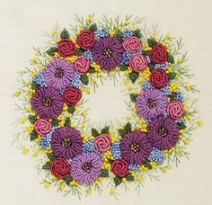 Embroidery Designs with Beads | ... Brazilian Dimensional Embroidery Design, fabric, beads, instructions