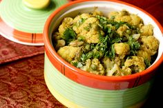 Gobi Mattar/ Cauliflower and Peas