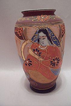 Occupied Japan Dragonware Style Vase
