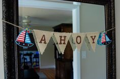 Ahoy - baby shower