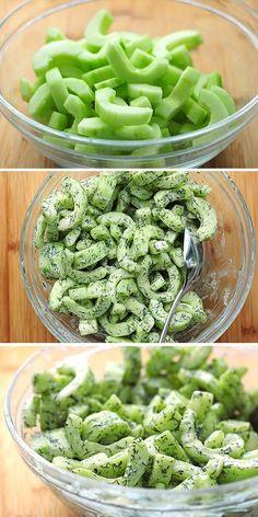 Cucumber Dill Greek Yogurt Salad