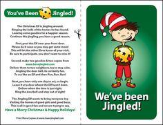 You've Been Jingled- Xmas Ring & Run