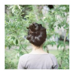 Art of the Top Knot.