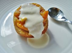 Gluten Free SCD and Veggie: Grain Free Peach Pudding Cakes & Peach Muffins GF SCD
