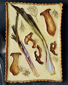 Fungus tart / Martha Stewart
