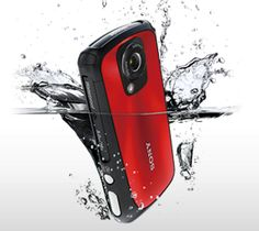 For the active videographer in your life - the bright red Bloggie Sport.