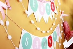 Cute Baby Shower Theme: Sugar & Spice - #babyshower #party