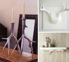 Living Room: Antlers!