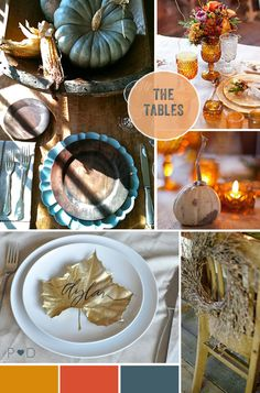Inspiration: Autumnal Event Styling by Pocketful of Dreams - Pocketful Of Dreams