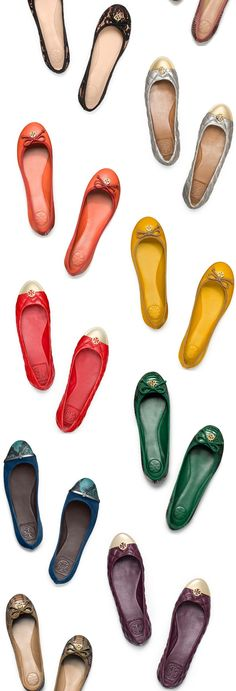 I'll take a pair in each color, please! #toryburch