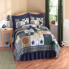 Sports Bedding Set
