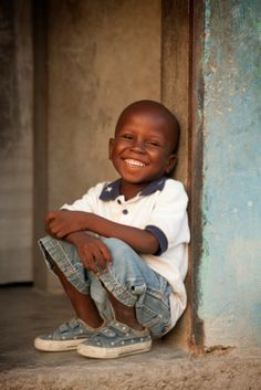 Love that smile!!! Africa.