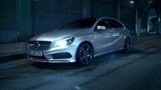 New Mercedes Benz A. Beautiful.