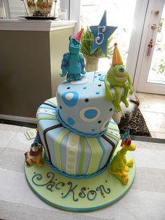 The Disney Cake Blog: Monsters INC Cake