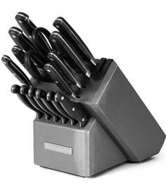 tripl rivet, kitchenaid product, rivet knife, block set, knife block