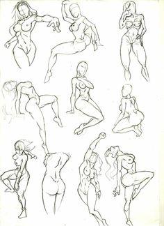 Anatomy Study 9 by marvelmania.deviantart.com on @deviantART