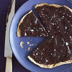 Chocolate-Salted Caramel Tart | http://www.health.com/health/gallery/0,,20618002_16,00.html