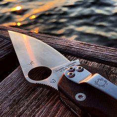 spyderco folding knife #everydaycarry #edc