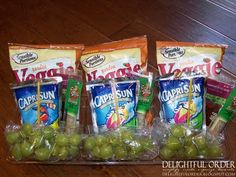 Organize school lunches