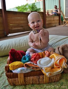 Textile Treasure Basket
