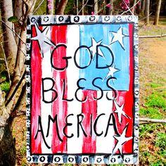 4th of July Decoration Door Hangers Patriotic by LooLeighsCharm,