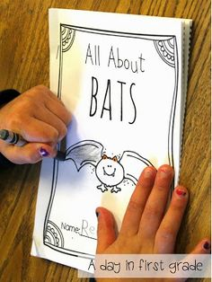 a fantastic nonfiction reader about bats. My first graders LOVED this!