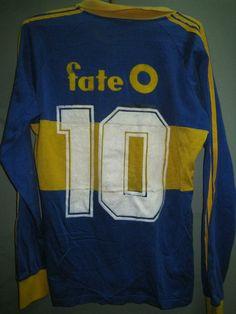 Boca Jrs 1988-89 Historica Camiseta Adidas Carlos Tapia