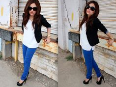 Ashes into Fashion: Royal Blue Jeans: The Classic Way