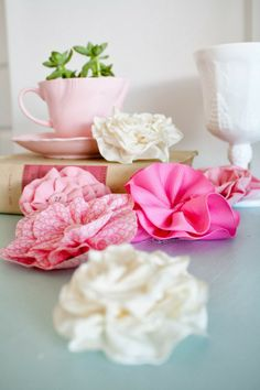 Just Add Sparkles: Fabric Flowers