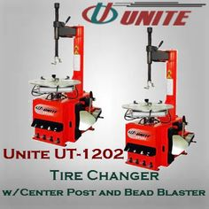 Tire Changer w/Center Post and Bead Blaster