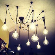 pendant lighting, hanging lights, light fixtures, candle holders, bulbs, barns, music rooms, industrial design, pottery barn