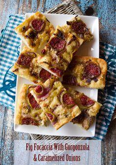 Pizza Bianca With Fresh Figs, Prosciutto & Arugula | Recipe