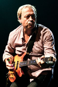 Level 42 - mark king one of the best bass guitar player since the 80s.