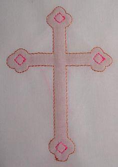 sweet, easy cross design