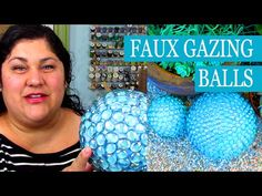 DIY Faux Gazing Ball