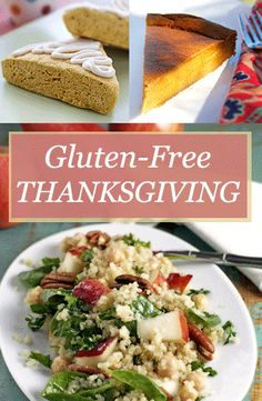 Tons of Thanksgiving recipes, tips on making holiday staples (pie crust, gravy, etc.), all gluten free.