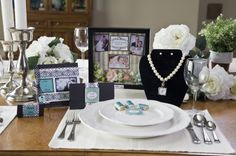 Celebrate your anniversary with customized decorations and party invitations.