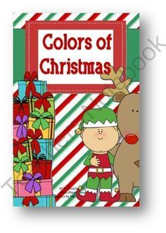 Colors of Christmas Booklet from RFTS Preschool on TeachersNotebook.com (10 pages)  - Colors of Christmas Booklet  10 pages  This is a cute Christmas coloring book for your pre-kindergarten crowd or those children who may need a fun color review project. Booklet includes 9 color pages. Can be folded and made into a booklet – per student.