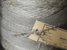 twine, tag, string, linens, grey