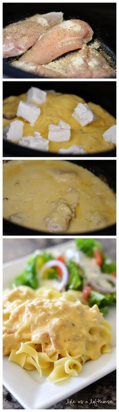 Creamy Italian Chicken in the Deep Covered Baker (or the Crock Pot)