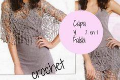 PATTERNS FREE Capa y Falda Crochet. 2 en 1 - Patrones Crochet