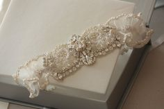 Bridal Garter Set Heirloom garter set